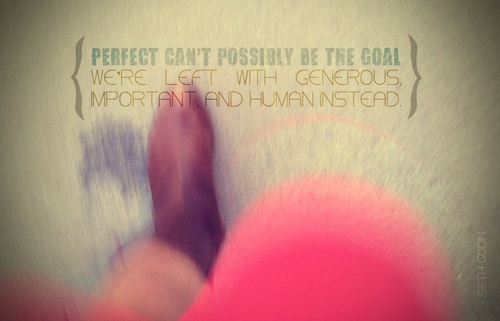perfect can't be the goal preview